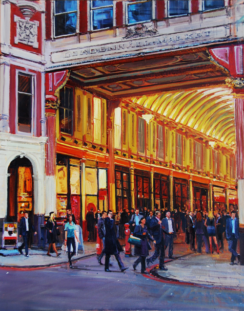 Evening Light, Leadenhall Market II 24 x 30