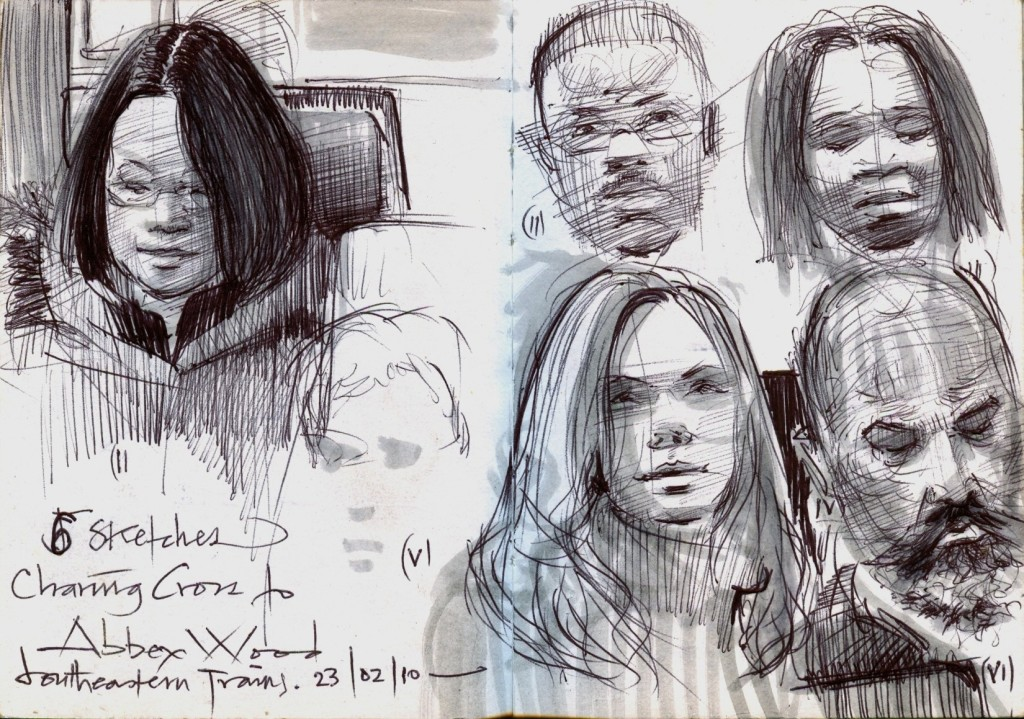 Sketches on Public Transport 23.02.10