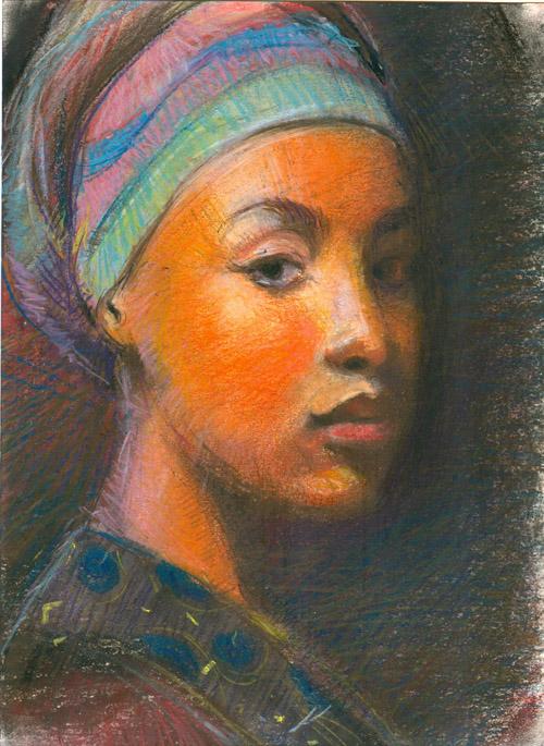 The African Headgear III