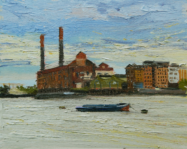 Early Evening light, Lots Rod Power station Chelsea