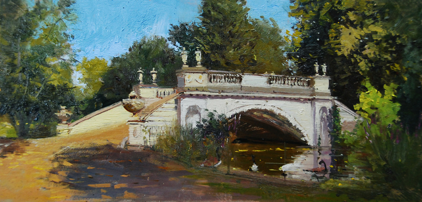 Summer Light,The Classic Bridge, Chiswich Park