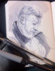 Sketches on Public Transport 14