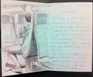 Sketches on Public Transport 18