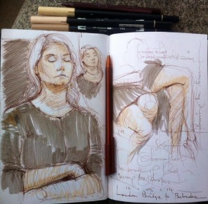 Sketches on Public Transport 19