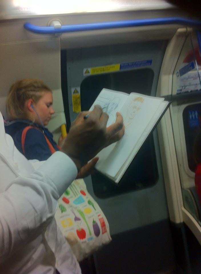 Sketches on Public Transport 26