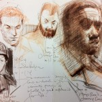 Sketches on Public Transport 11