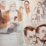 Sketches on Public Transport 12