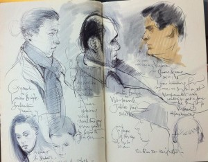 Sketches on Public Transport 13