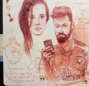 Sketches on Public Transport 10