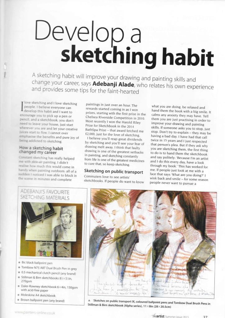 Adebanji Alade The Artist Magazine