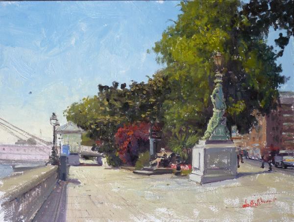 Alade-Adebanji-Summerlight Chelsea Embankment II