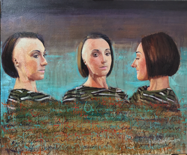 Three View of Adele Bellis,